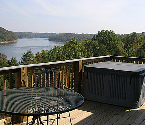 Kentucky Resort Cottage View